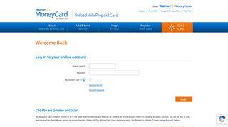 Walmart MoneyCard Log In – Access Your Account