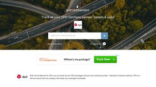 DPD TRACKING   Parcel Monitor