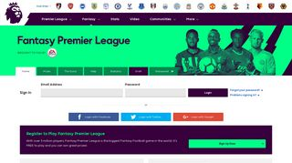 Fantasy Premier League, Official Fantasy Football Game of the ...