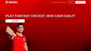 Fantasy Cricket   Play Real Fantasy Cricket & Football Games Online ...