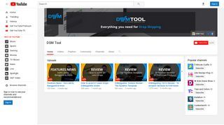 DSM Tool - YouTube