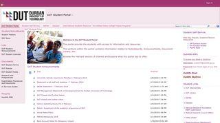 DUT Student Portal