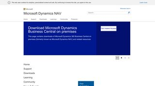 Home - Microsoft Dynamics CustomerSource