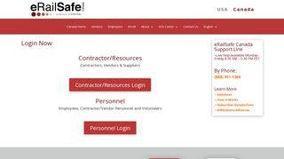 Login | eRailSafe