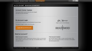 Broadsword | Account Management