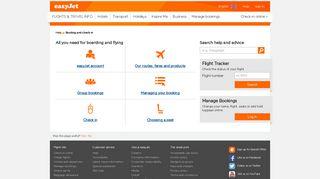 Booking and check-in | easyJet