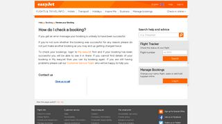 Review your Booking | easyJet