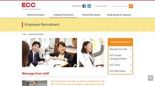 Employee Recruitment   ECC