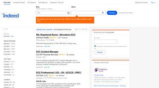Ecc Jobs, Employment   Indeed.com