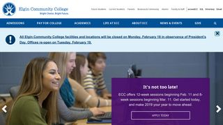 Elgin Community College (ECC) - Elgin, Illinois