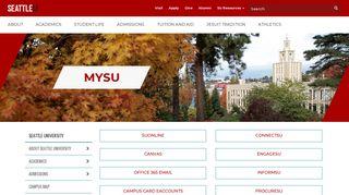 MySU - Seattle University