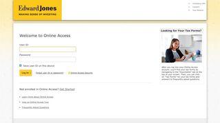 Log In: Account Access | Edward Jones Account Access