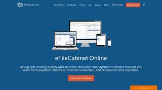 eFileCabinet Online Document Management   eFileCabinet