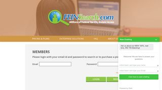 Federal Tax ID Number Search Experts | Tax id search | IRS TIN Match ...