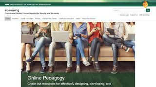 UAB - eLearning - Canvas and Online Course Support for Faculty and ...