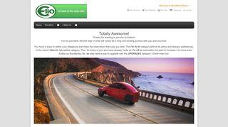 Home page - Elio Motors