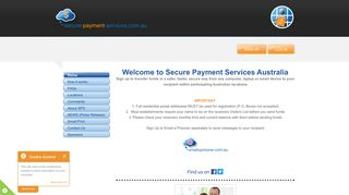 Secure Payment Services - the hassle free way to send money.