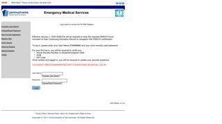 EMS Registry