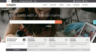 Domain Names ~ Register Domains with Enom