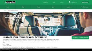 Commute with Enterprise - Van and Carpools | Enterprise Rent-A-Car