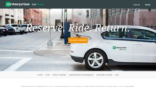 Enterprise CarShare - Hourly Car Rental and Car Sharing