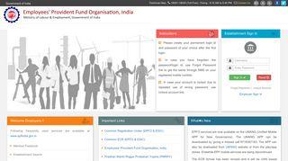 EPFO unified portal
