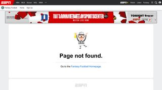 Play ESPN Fantasy Football - ESPN