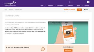 Members Online - ESSSuper
