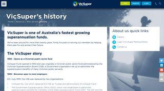 History- VicSuper