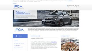 Global Home - FCA Fiat Chrysler Automobiles eSupplierConnect ...