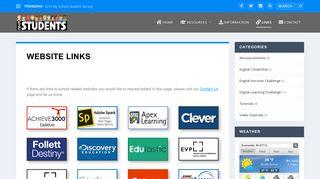 Website Links - EVSC Students Website