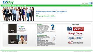 EZBuy e-Signature Sales Solution | EZBuy