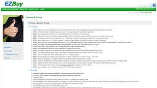 Features & Pricing | EZBuy