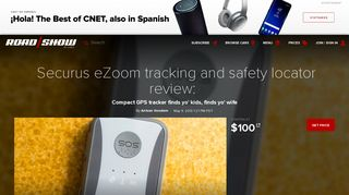 Securus eZoom tracking and safety locator review: Compact GPS ...