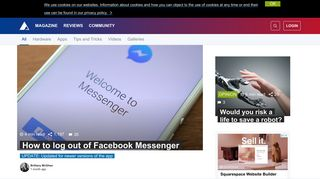 How to log out of Facebook Messenger | AndroidPIT