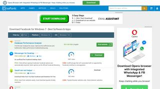 Download Facebook for Windows 7 - Best Software & Apps - Softonic