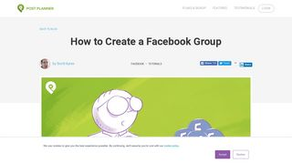 How to Create a Facebook Group - Post Planner