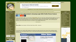 How to Turn off Facebook's Annoying Login With Profile Picture ...