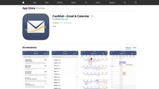 FastMail – Email & Calendar on the App Store - iTunes - Apple