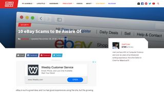 10 eBay Scams to Be Aware Of - MakeUseOf