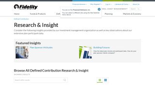 Research & Insight - Fidelity Institutional Asset Management