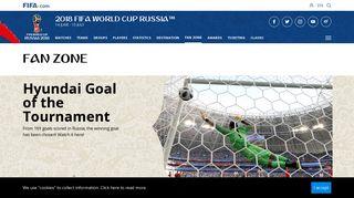 2018 FIFA World Cup Russia™ - Fan Zone - FIFA.com