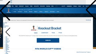 FIFA World Cup Tournament Knockout Challenge 2018   Fantasy Soccer