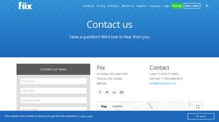 Contact Us   Fiix