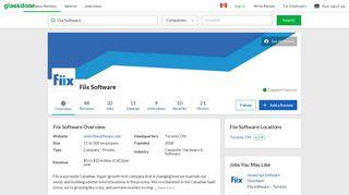 Working at Fiix Software   Glassdoor.ca