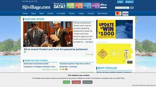 Login - Fijivillage   Fiji's Latest News and Sports website