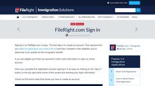 FileRight.com Sign in – FileRight
