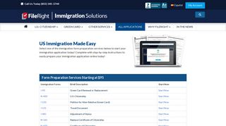 US Immigration Filing Solutions   FileRight