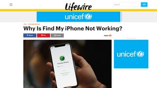 Why Is Find My iPhone Not Working? - Lifewire