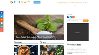 FitDay: Free Diet & Weight Loss Journal